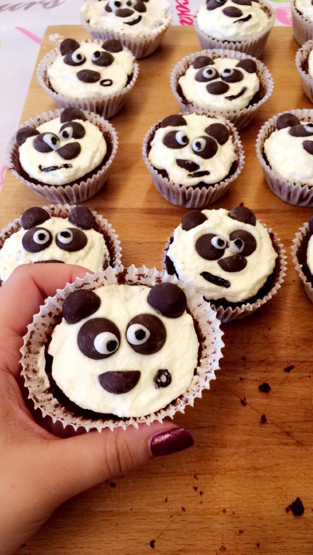 Die fertigen Pandas