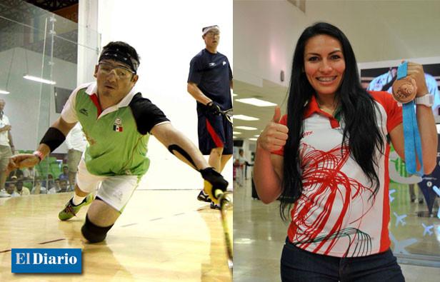 El Raquetbolista y la Pesista con medallas panamericanas se van a la gran final