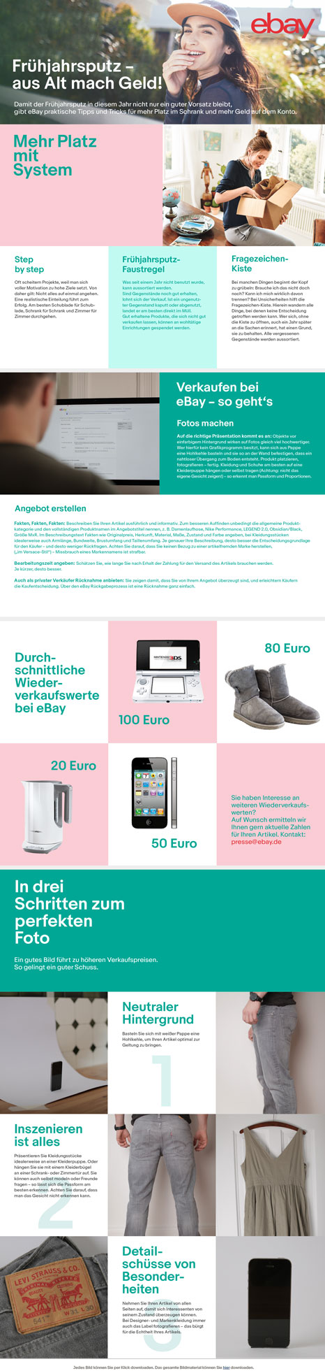 eBay Tipps zum Verkauf von Produkten bei eBay