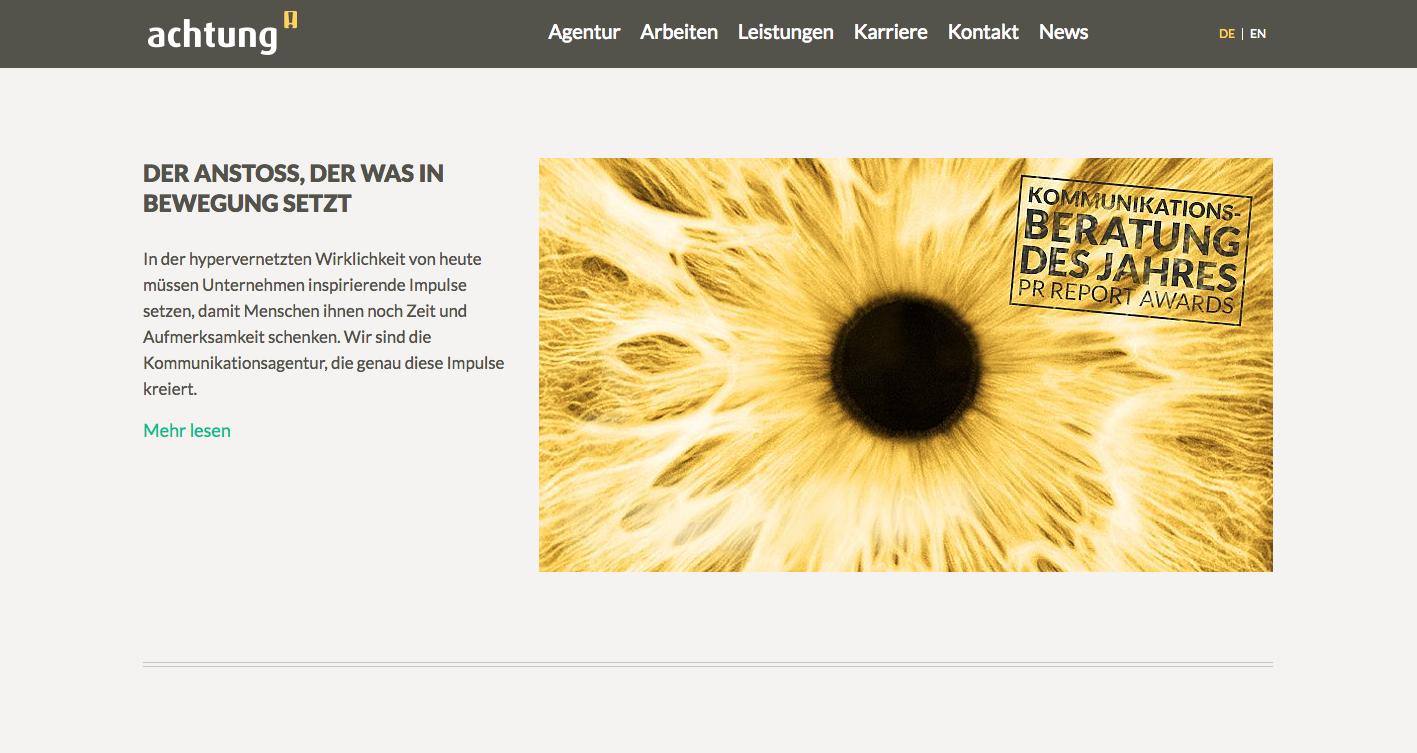 Website Konzeption, Entwicklung, Gestaltung