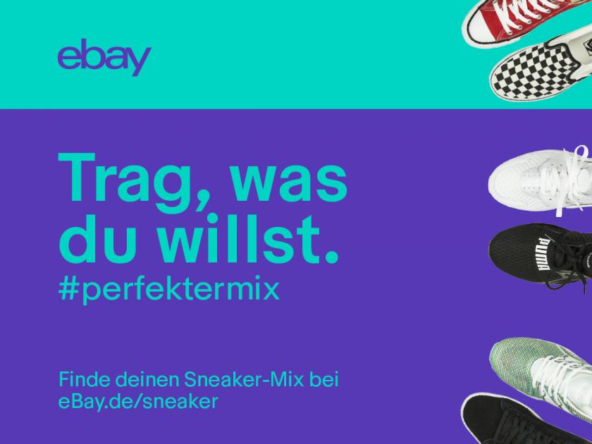 Ads für den eBay Sneaker Dance Contest