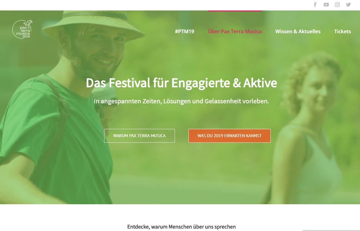 Pax Terra Musica - Friedensfestival 2017  (Pressesprecher)