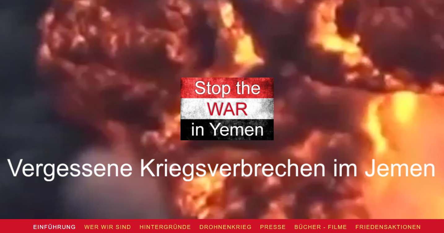 Friedensinitiative Stop the WAR in Yemen (2017)
