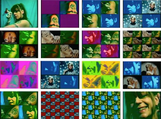 """""""Heute tätowiere ich mich"""" Videostill 2003"""