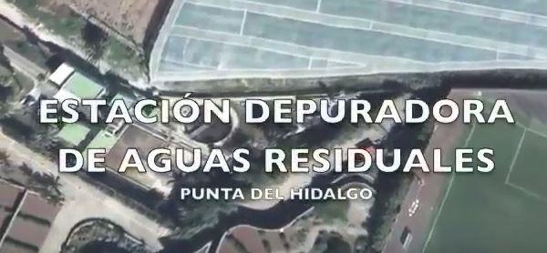 Depuradora de Aguas Residuales Punta del Hidalgo