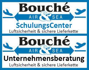 Logo Bouché Air & Sea GmbH (Schulung & Unternehmensberatung für Luftsicherheit und sichere Lieferkette)
