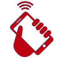 Bild: Mobilgerät mit Klingeltonzeichen