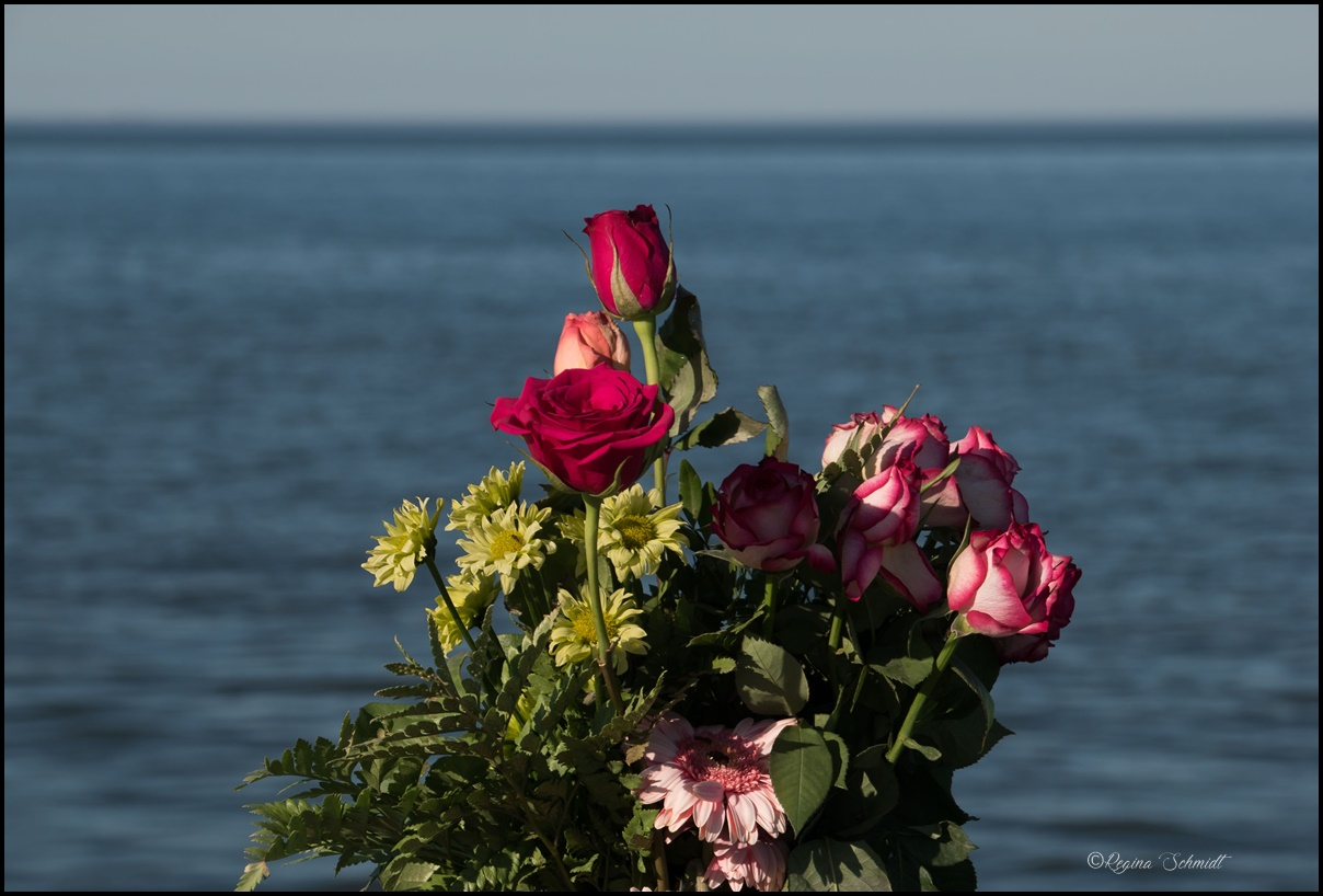 Trauerstelle für Angehöre der Seebestattungen