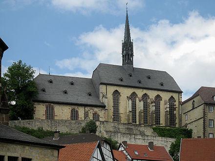 Die evangelische Altstadtkirche St. Maria in vinea
