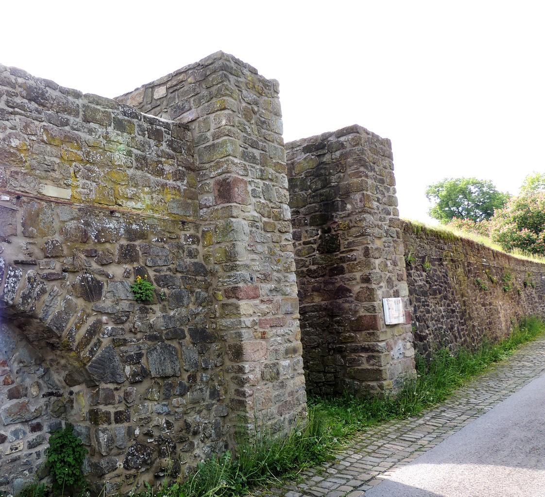 Stadtmauer in der Neuen Straße