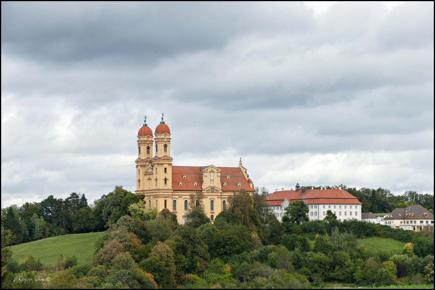 Wallfahrtskirche am Schönenberg.