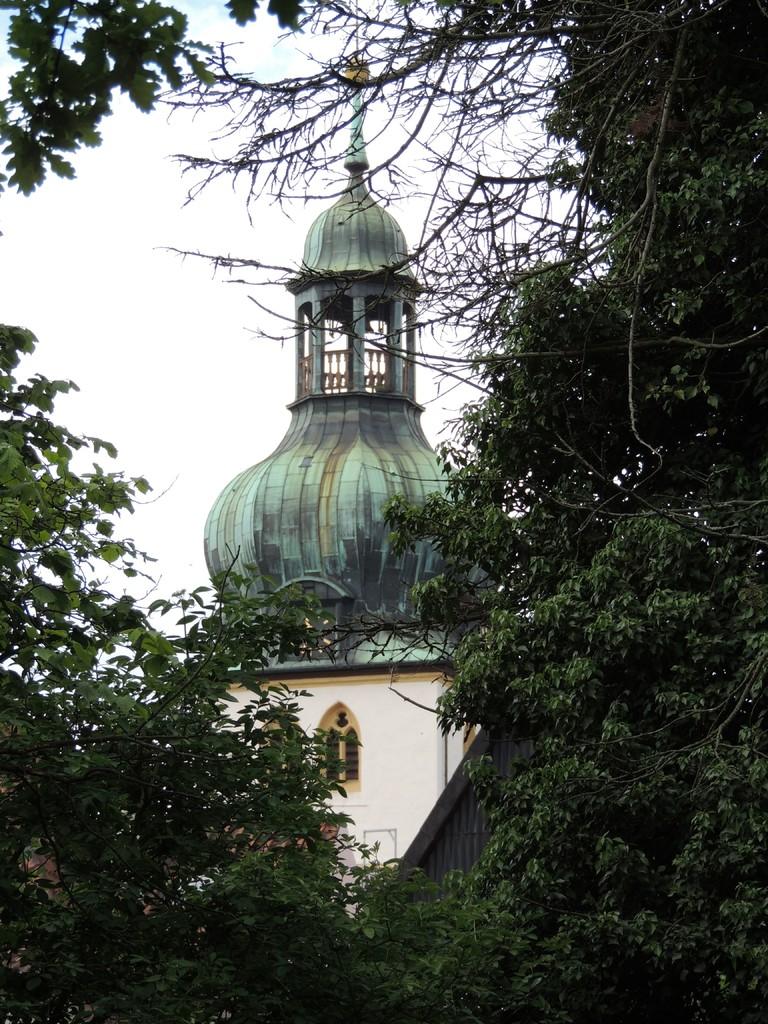 """Jakobikirche """"Radewiger Kirche"""". Die Kirche war bis ins 16. Jahrhundert Pilgerkirche der Jakobspilger"""