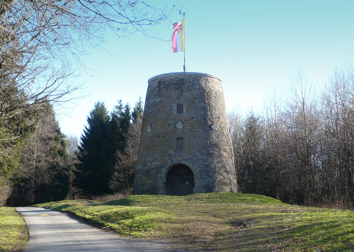 Windmühlenstumpf (Kumsttonne)