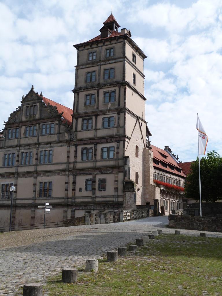 Schloss Brake;  1587 - 1613 Regierungssitz der Lipper