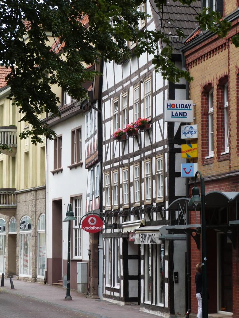 Straße in der Neustadt
