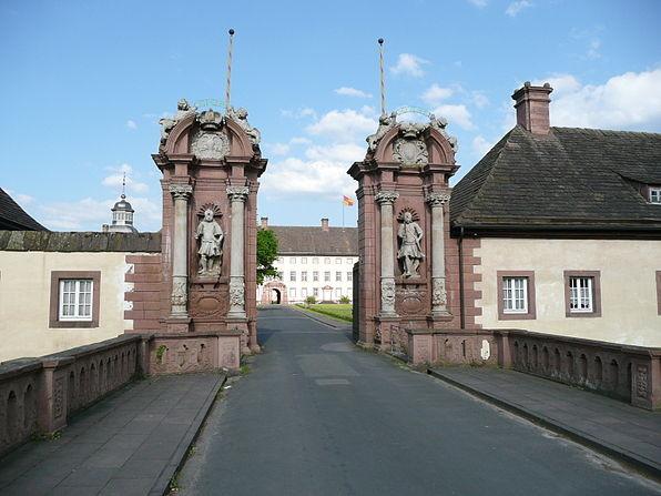 Toranlage von Schloss Corvey