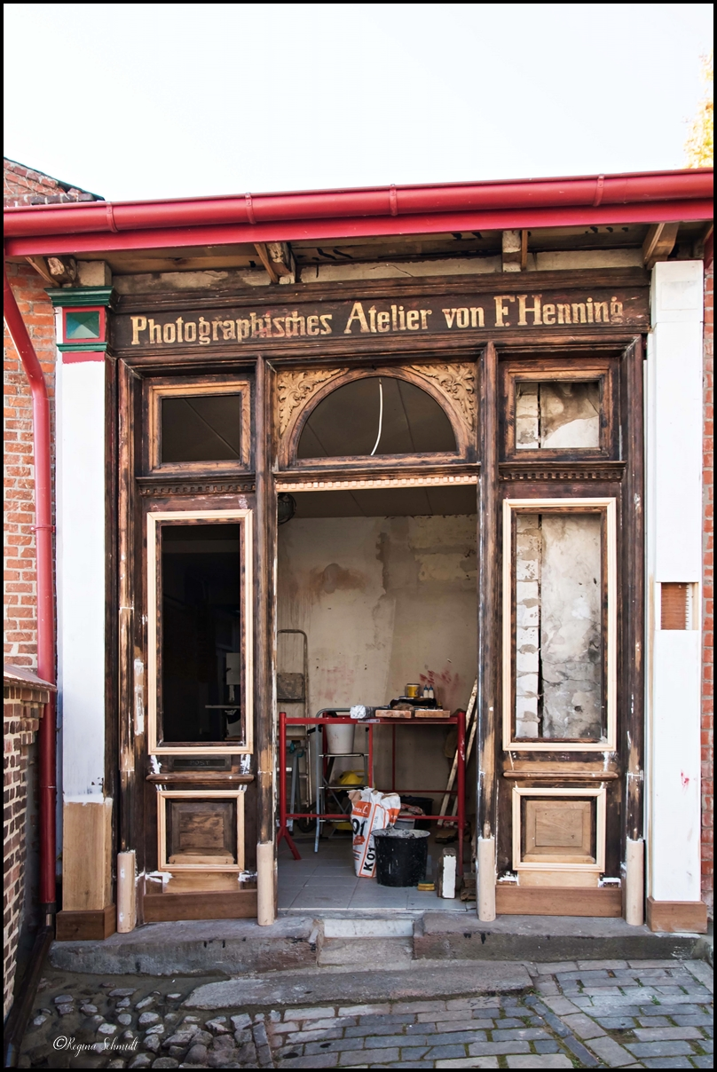 Fotostudio der Vergangenheit