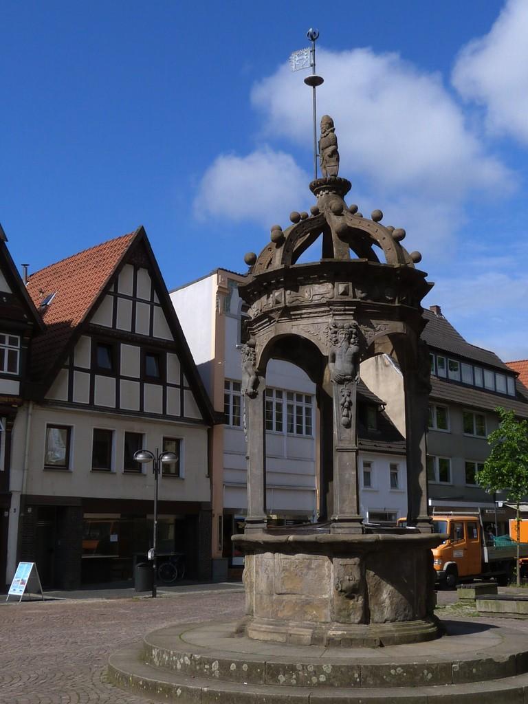 Neustädter Brunnen, ein Renaissancebrunnen aus dem Jahr 1599