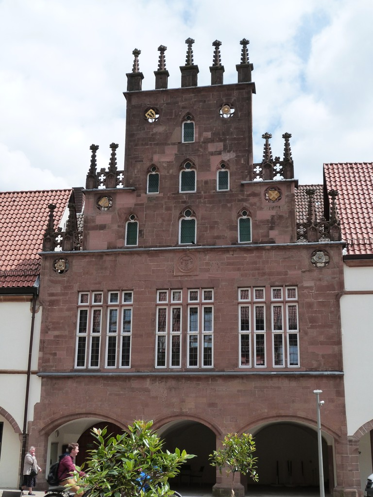 Der einfachste Bauteil des Lemgoer Rathauses ist das Winteppenhaus,