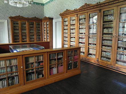 Fürstliche Bibliothek im Nordflügel
