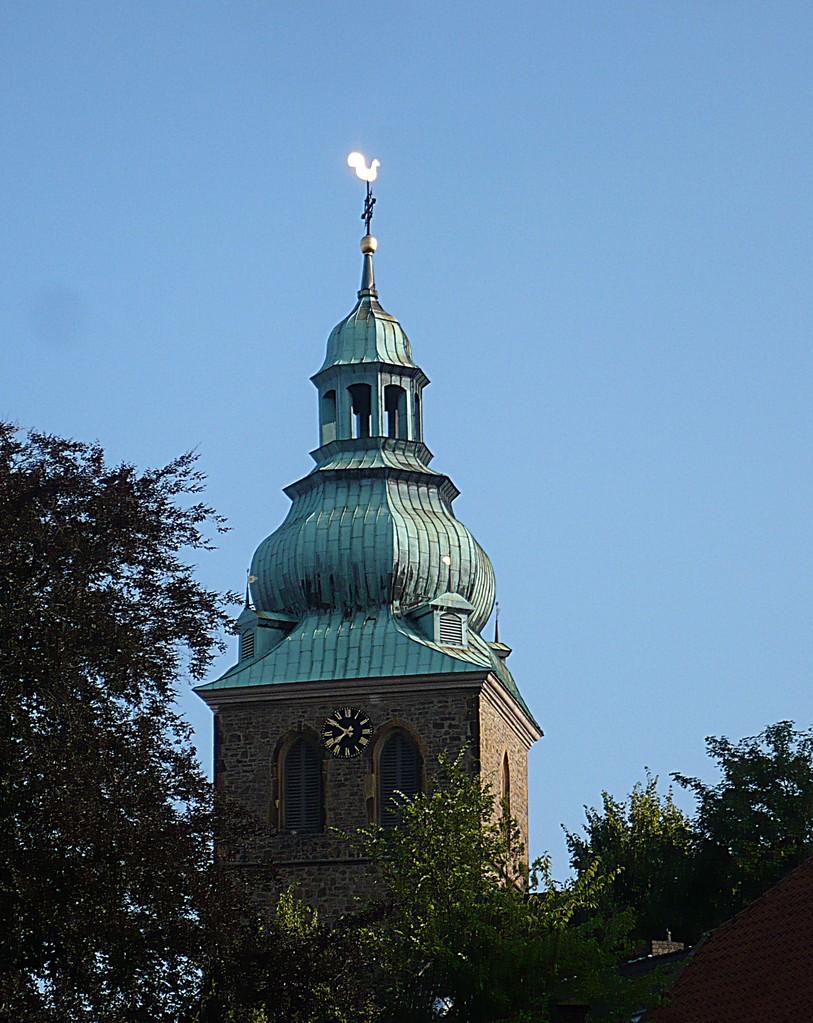 Turm der Stadtkirche auf dem Hallenbrink