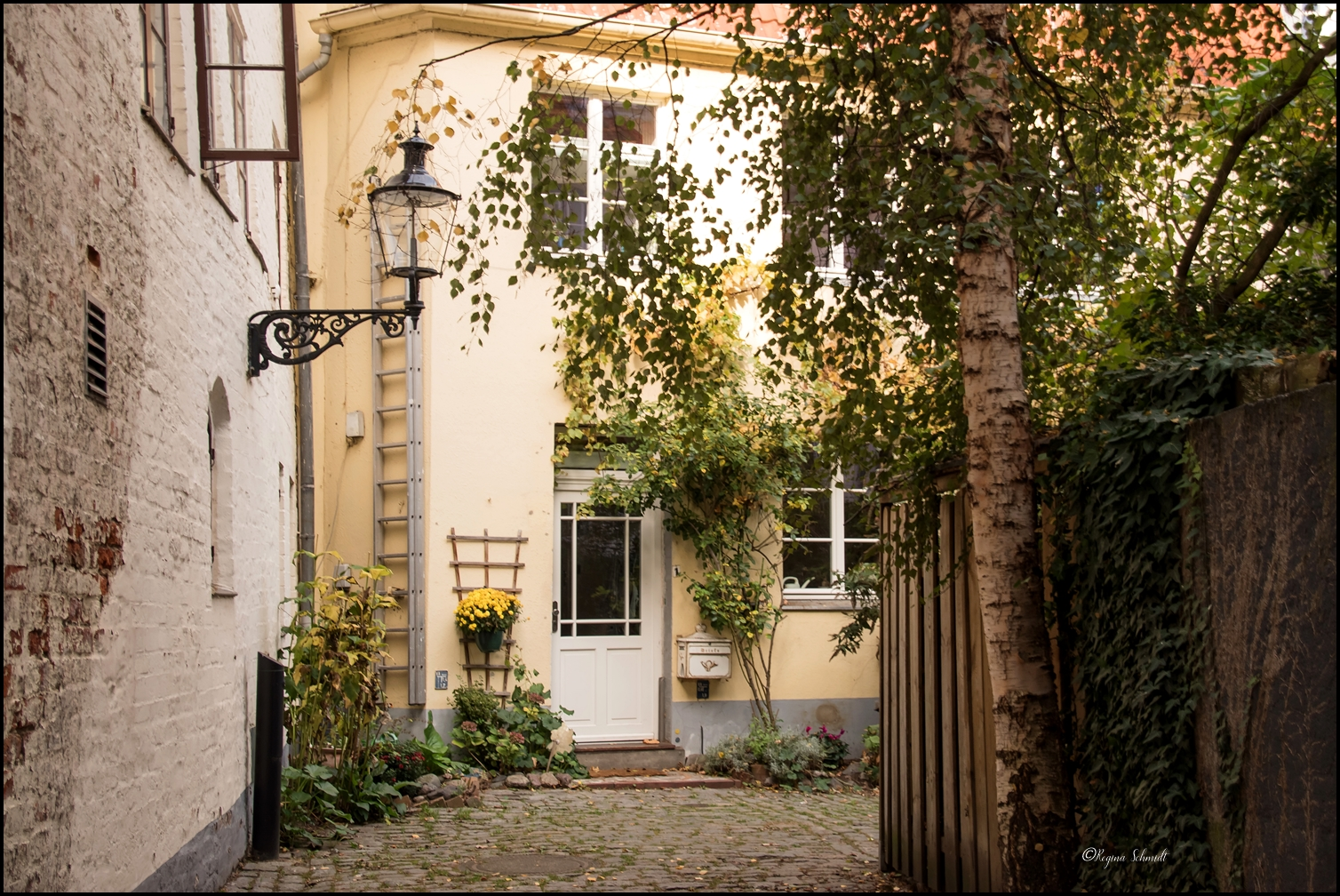 Lübeck steht auch für hübsche kleine Gassen