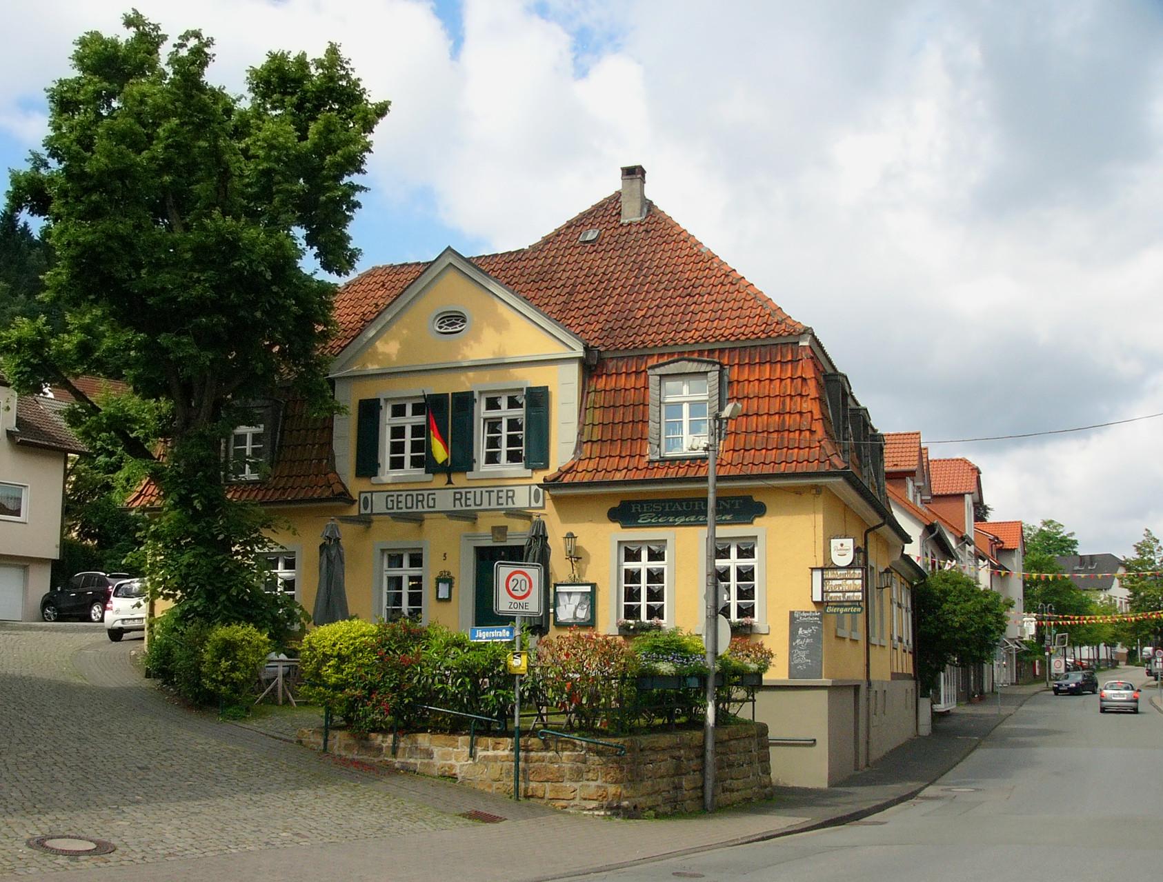 Die ehemalige Zigarrenbude: Baujahr 1791; Altdeutsche Bierstuben