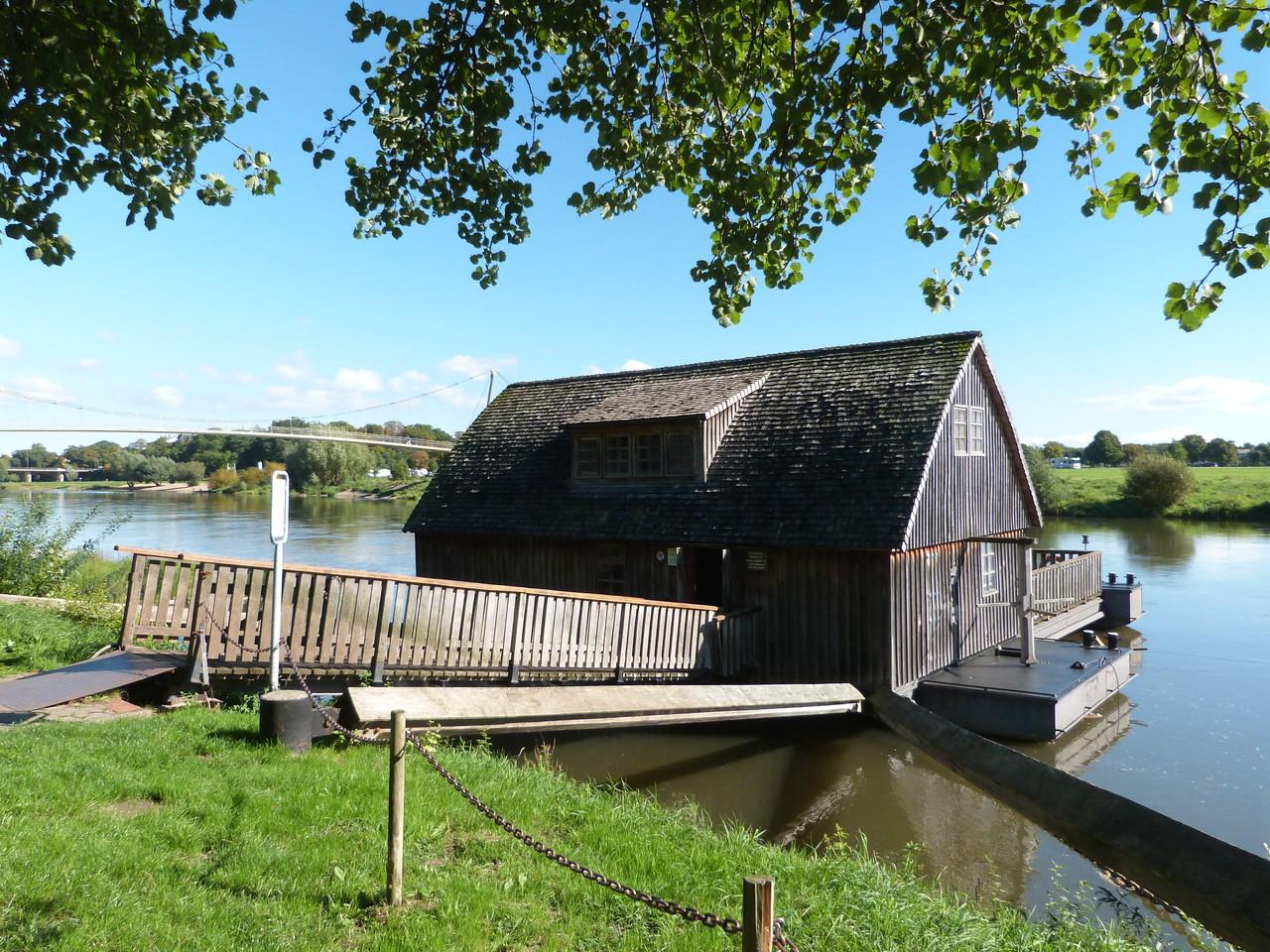 Schiffmühle aus dem 18. Jahrhundert