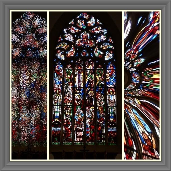 Kirchenfenster in Herford