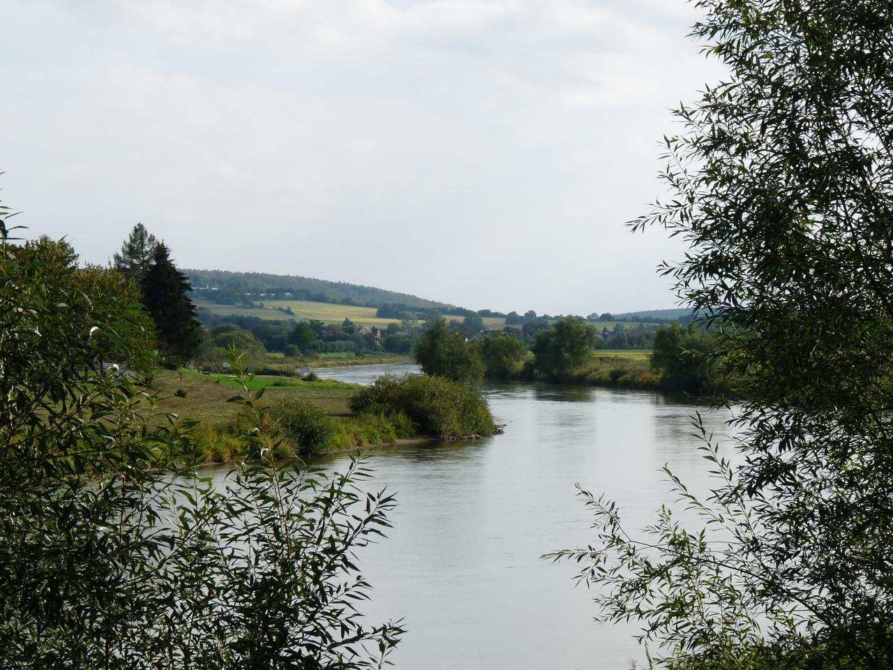 Weserbergland bei  Höxter