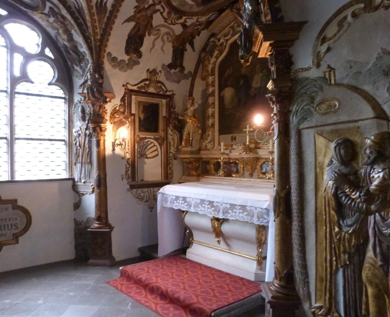 Altar in der Dreifaltigkeitskapelle