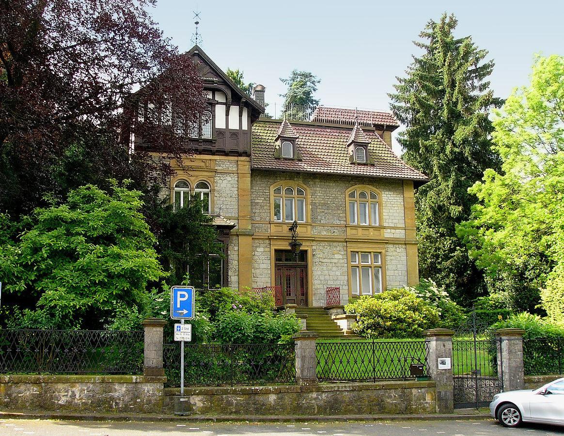 Wohnhaus von Carl David Weber