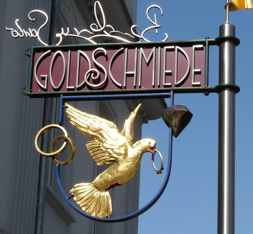 Goldschmiedezeichen in B.S.
