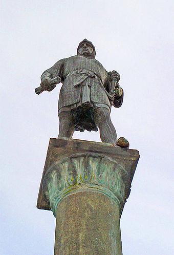 Bernhard II. zur Lippe Begründer der Landesherrschaft Lippe und der Planstädte Lippstadt und Lemgo.
