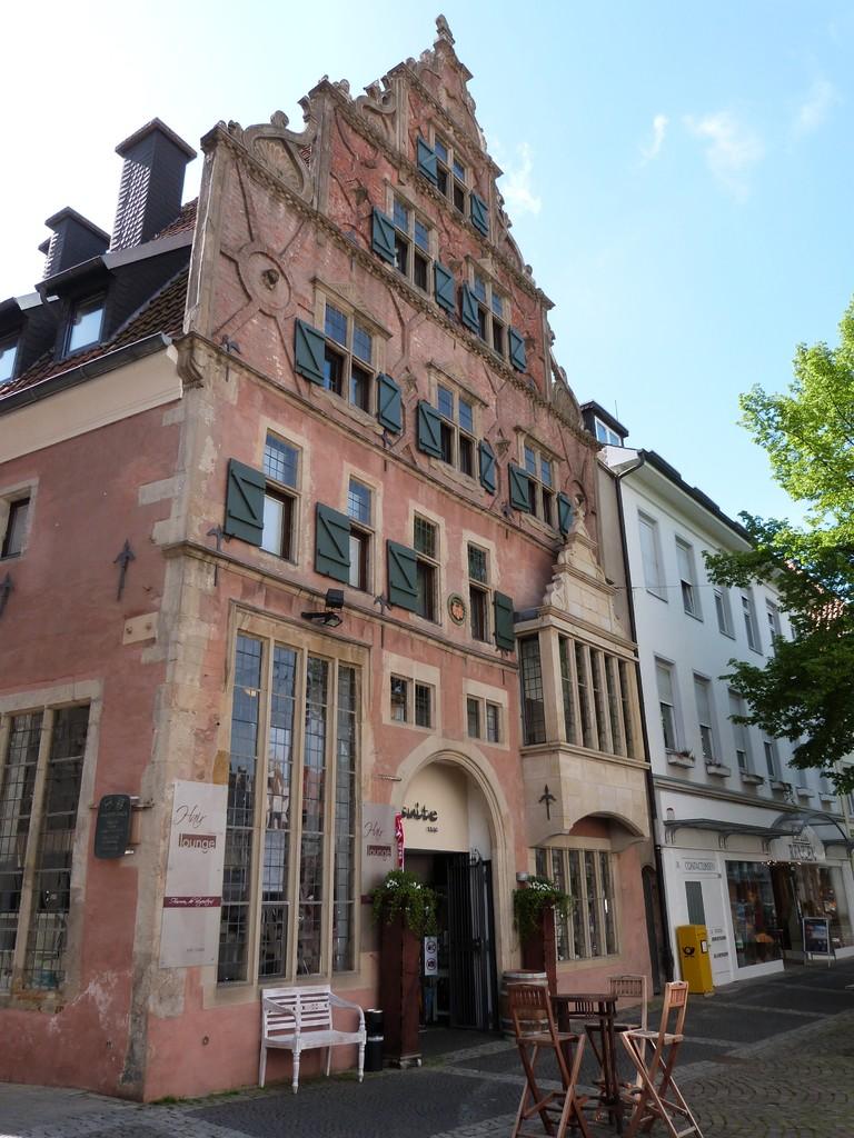 Wulferthaus wurde 1560 für den Ratsherrn und Kaufmann Jobst Wulfert erbaut.