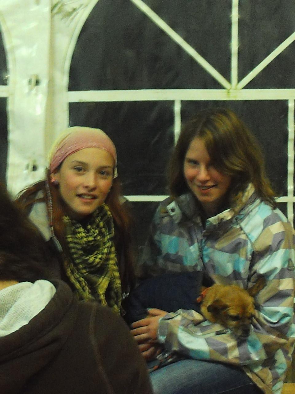 Yasmin und Michele mit Pepa