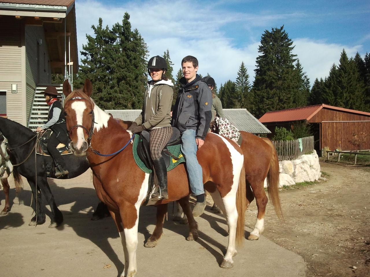 Janosch + Vera, zuwenig Pferde?