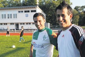 Viktor Sousa (li) und Ehab Ahmad (re)