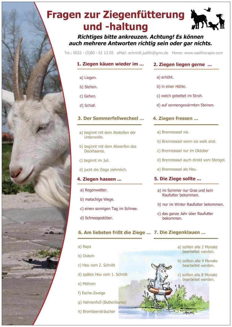 Fein Ziege Färbung Blatt Galerie - Malvorlagen Von Tieren - ngadi.info