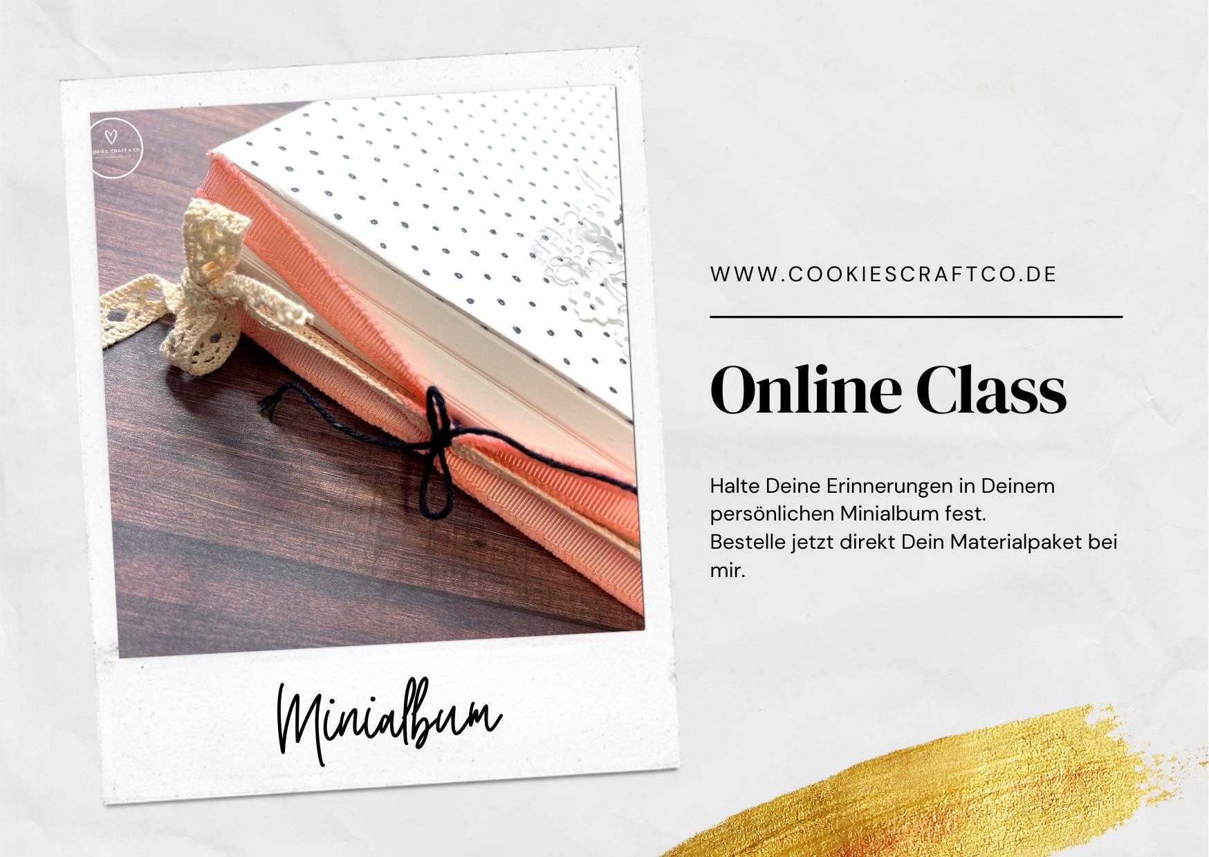 Minialbum - Es gibt wieder eine Online Class
