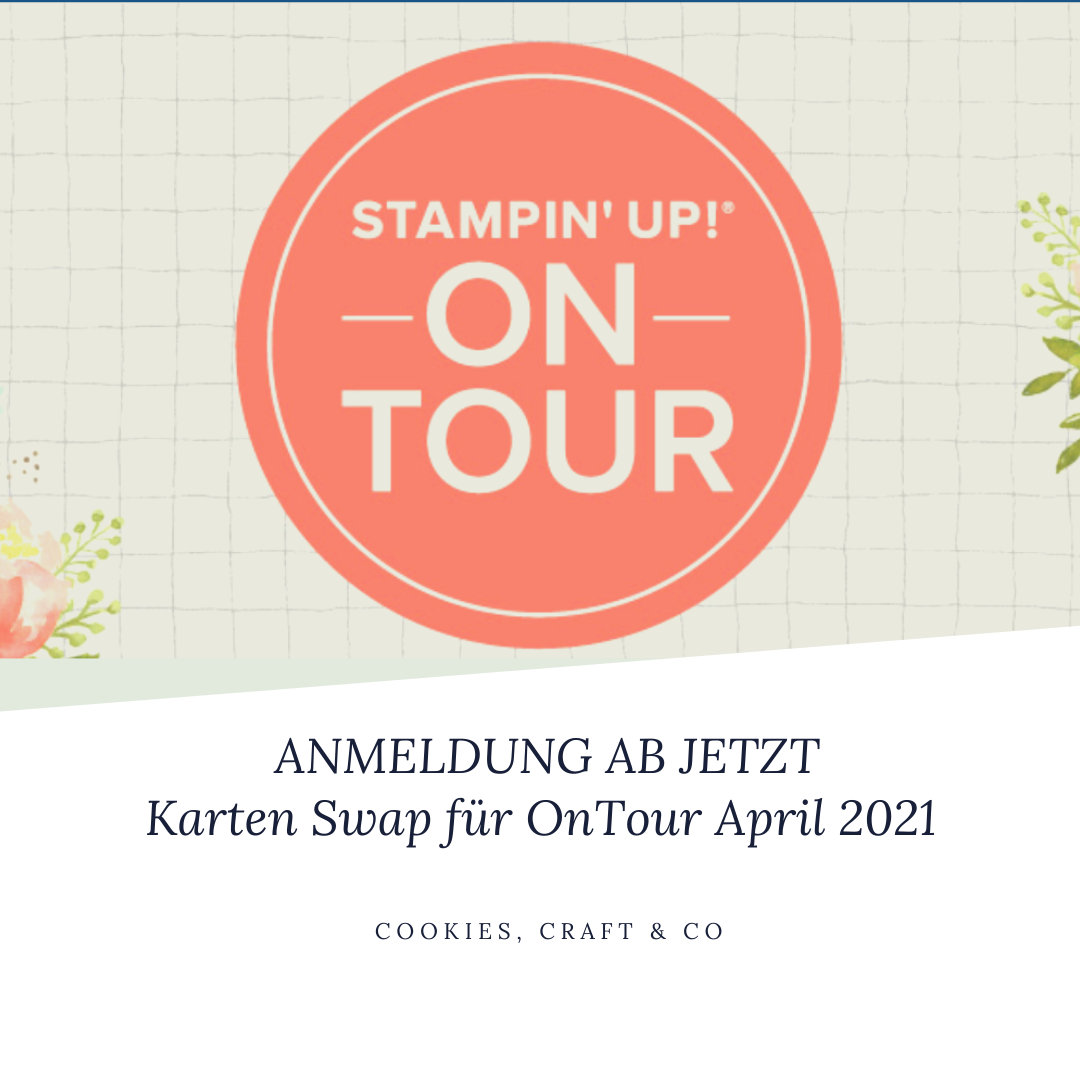 Anmeldung - Karten Swap OnTour 2021