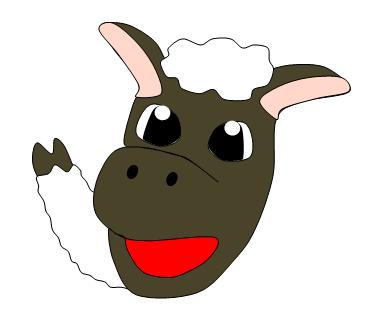 羊イラスト4 やぁ~羊です( *´艸`)