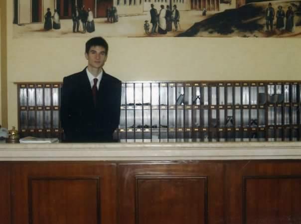 Anno 2004 - Eccomi al ricevimento :-)