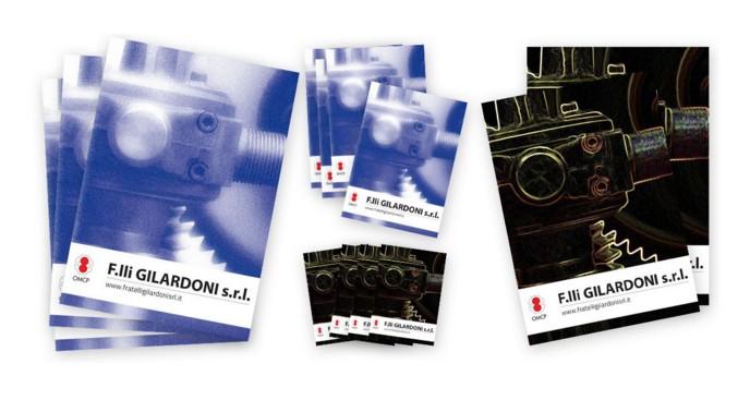 Bozza elaborazione grafica per il restyling del catalogo Gilardoni