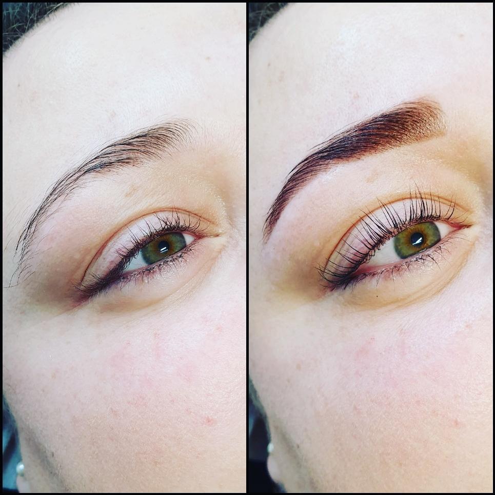 Henna Brows color & style / Lashlifting färben & Keratin Pflege