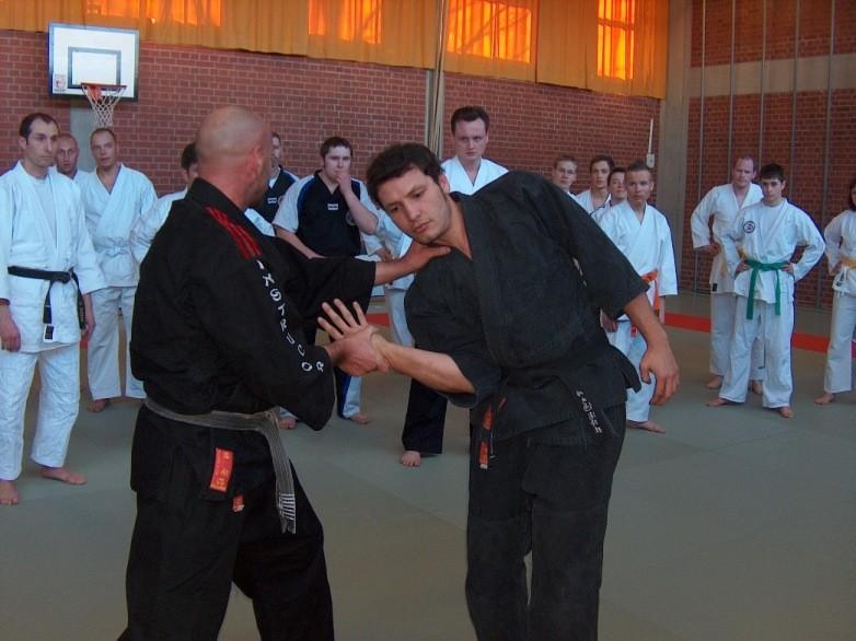 Hebel - Shihan Freddy, SV-Lehrgang 2007