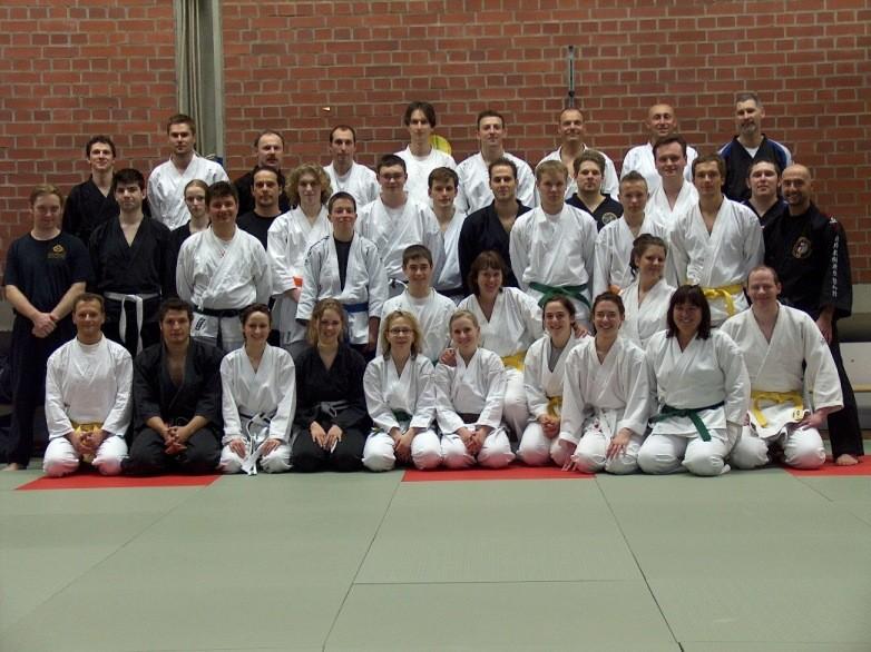 SV-Seminar mit Shihan Freddy Kleinschwärzer, 8. Dan im Jahre 2007