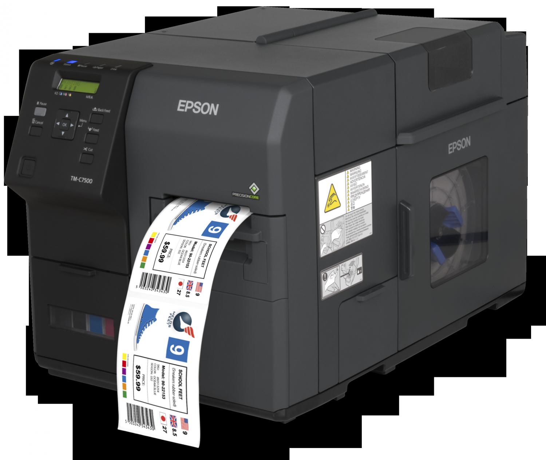Epson C7500 Etiketten Farbdrucker