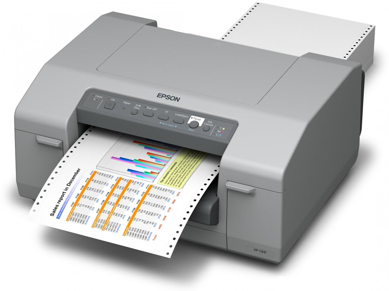Epson C831 Etiketten Farbdrucker