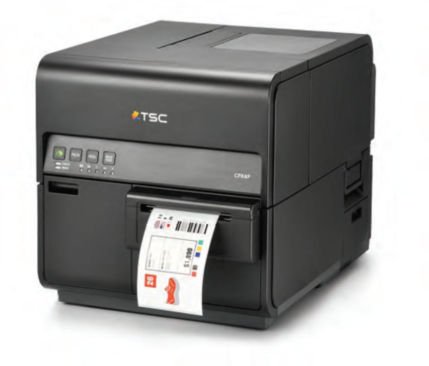 TSC CPX4 Farbetikettendrucker Front